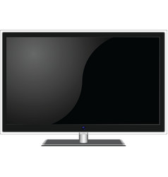 Widescreen tv vector