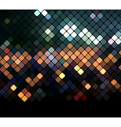 Mosaic neon background vector