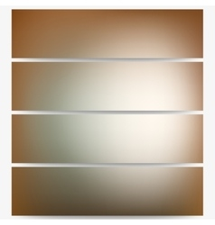 Abstract unfocused natural headers set blurred vector