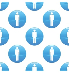 Man sign pattern vector