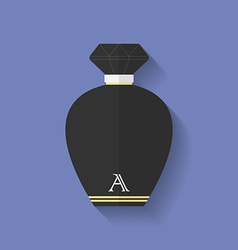 Perfume icon flat style vector
