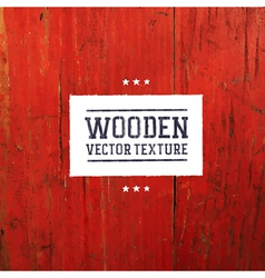 Red painted wooden texture vector
