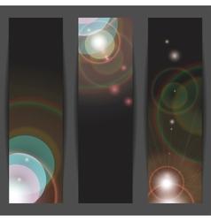 Vertical banners vector