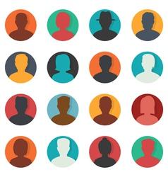 Set of avatar vector