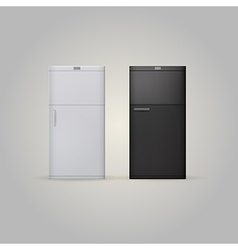 Two fridges vector