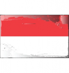 Indonesia national flag vector