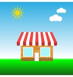 Small shop vector