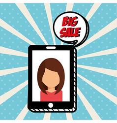 E-commerce icon vector
