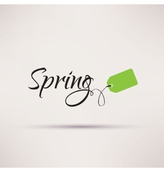 Icon of sale seasonal spring isolated vector