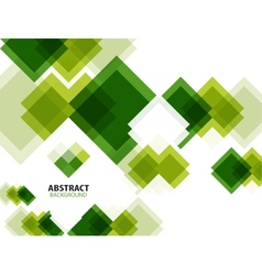 Green modern geometrical abstract background vector