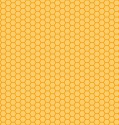 Honeycomb orange and yellow seamless vector