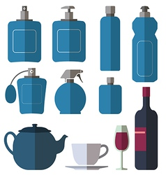Bottle collection vector