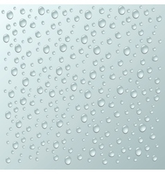 Background with a lot of water drops vector