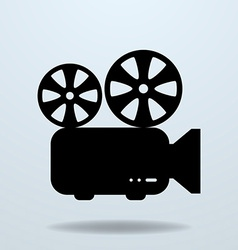 Icon of film projector cinema projector vector
