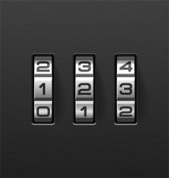 Combination lock vector