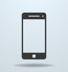 Icon of smartphone mobile phone vector