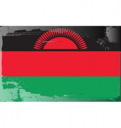 Malawi national flag vector