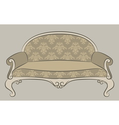 Vintage furniture vector