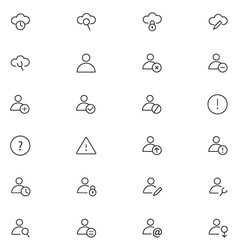User interface icons 15 vector