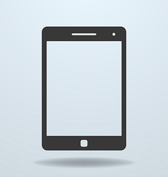 Icon of tablet pc tablet computer vector