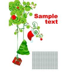 Christmas hollyday decor vector