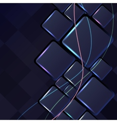 Abstract backgrounds with lights lines vector