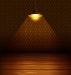 The lamp in the room vector