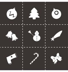 Cristmas icons set vector