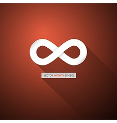 Abstract infinity symbol vector