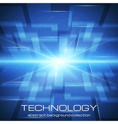Bright technology background vector