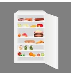 Full fridge vector