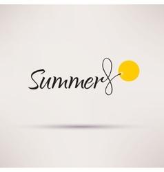 Icon of sale seasonal summer isolated vector