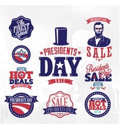 Happy presidents day huge sale vector