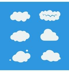 Character sets cloud vector