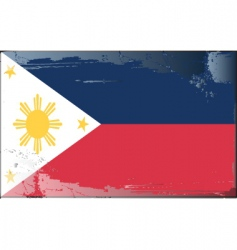 Philippines national flag vector
