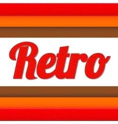Retro vector