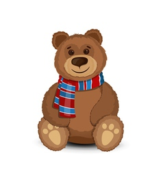 Bear isolated vector