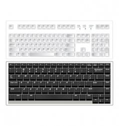 Keyboards vector