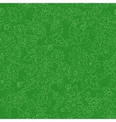 Daisy background green vector