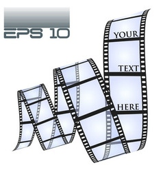 Eps10 filmstrip vector