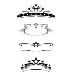 Entertainment symbols vector
