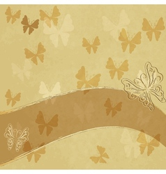 Old spotted paper vector
