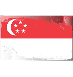 Singapore national flag vector