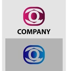Letter q logo symbol icon vector
