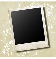 Photo card vector