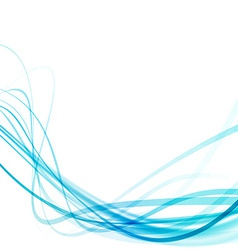 Transparent swoosh smooth speed futuristic lines vector