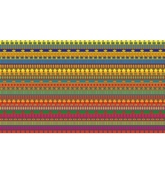 Stripes seamless pattern of egypt elements vector