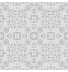 Abstract vintage geometric pattern seamless vector