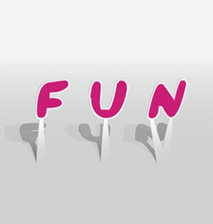 Fun word vector
