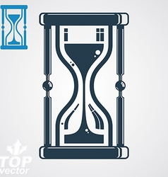 Eps8 high quality sand-glass additional ver vector